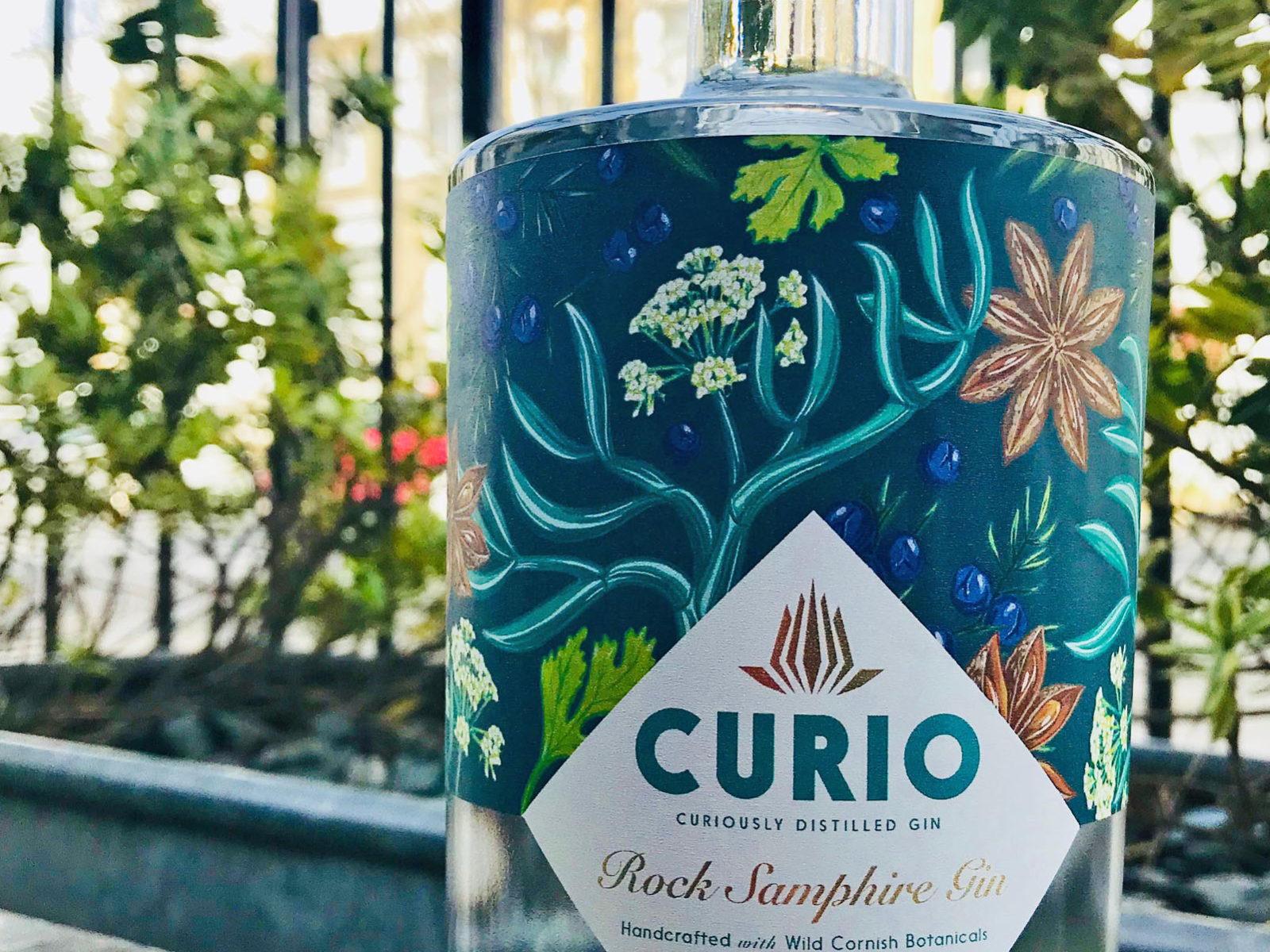 We love Curio's Rock Samphire Gin