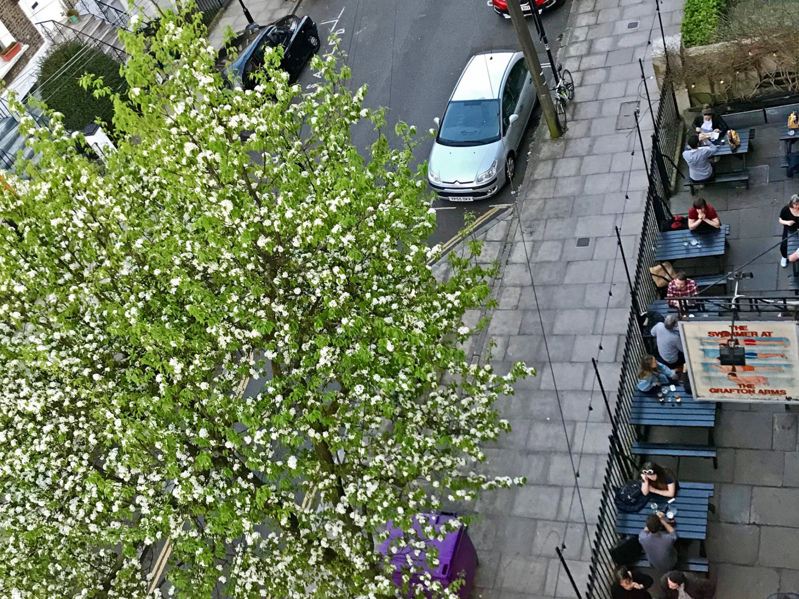 We are lucky to be in a quiet residential street so our beer garden is a lovely place to enjoy your pint on a warm day