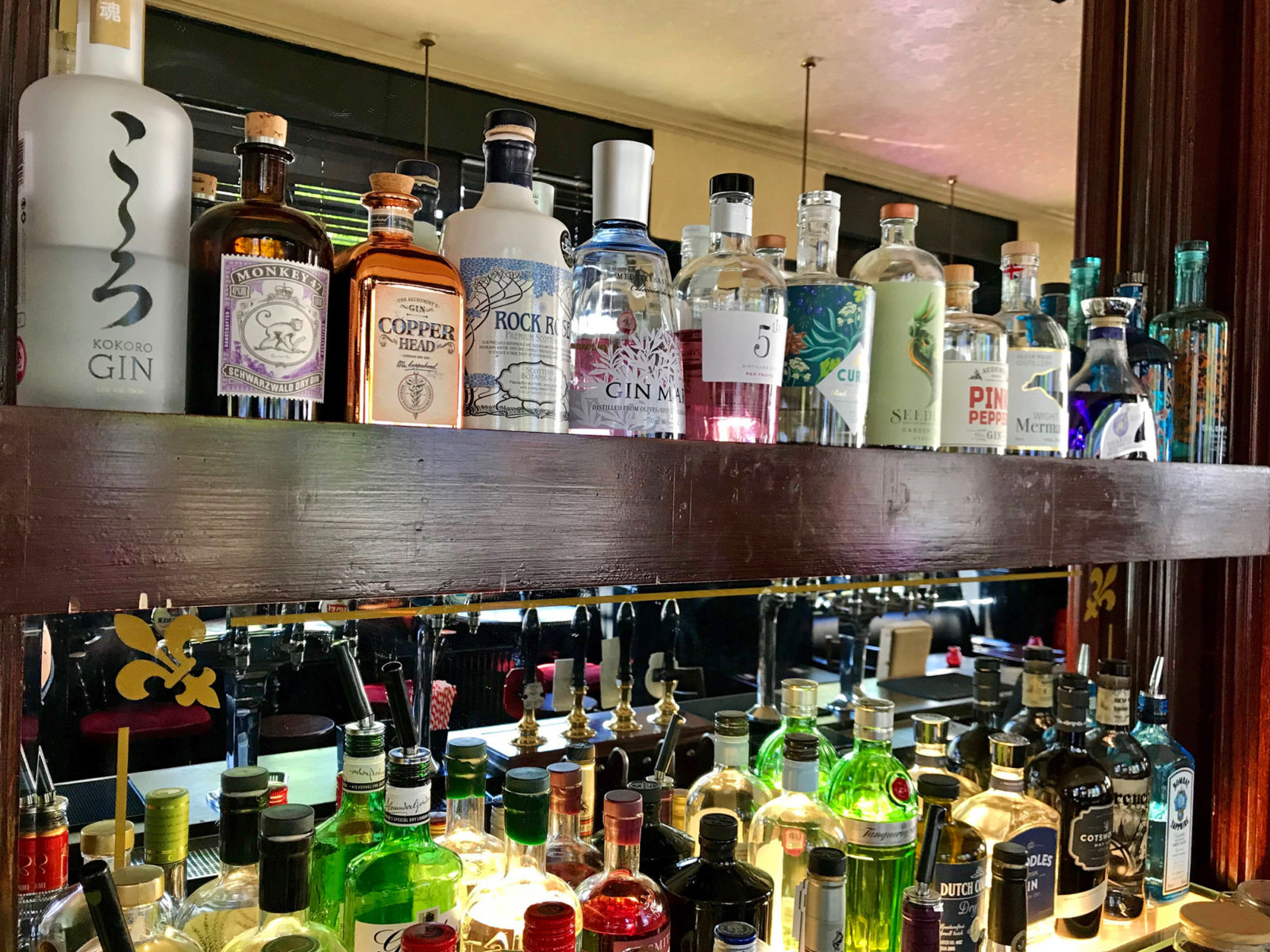 We take our gin collection seriously. Ask at the bar for recommendations.